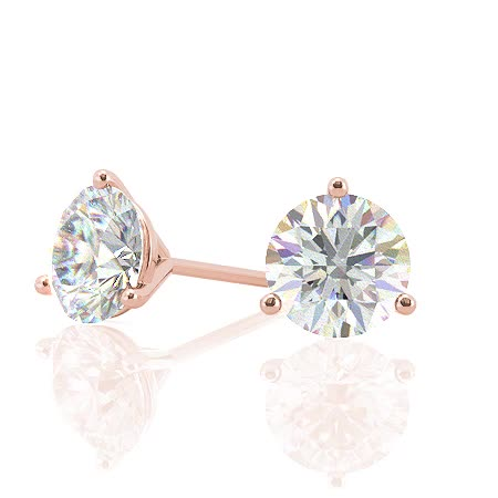 ear031-round-rose-gold